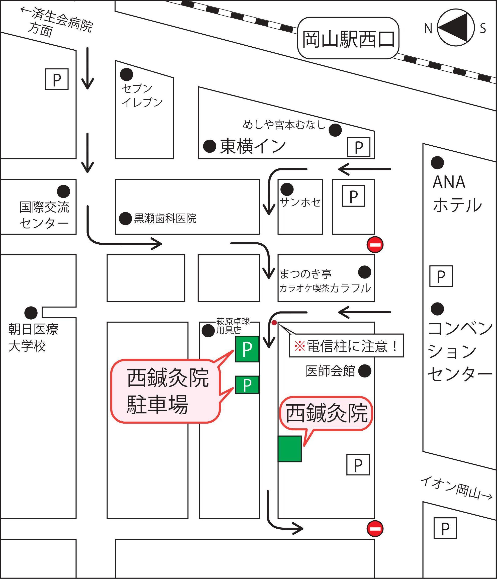 岡山県岡山市北区駅元町19-20の地図